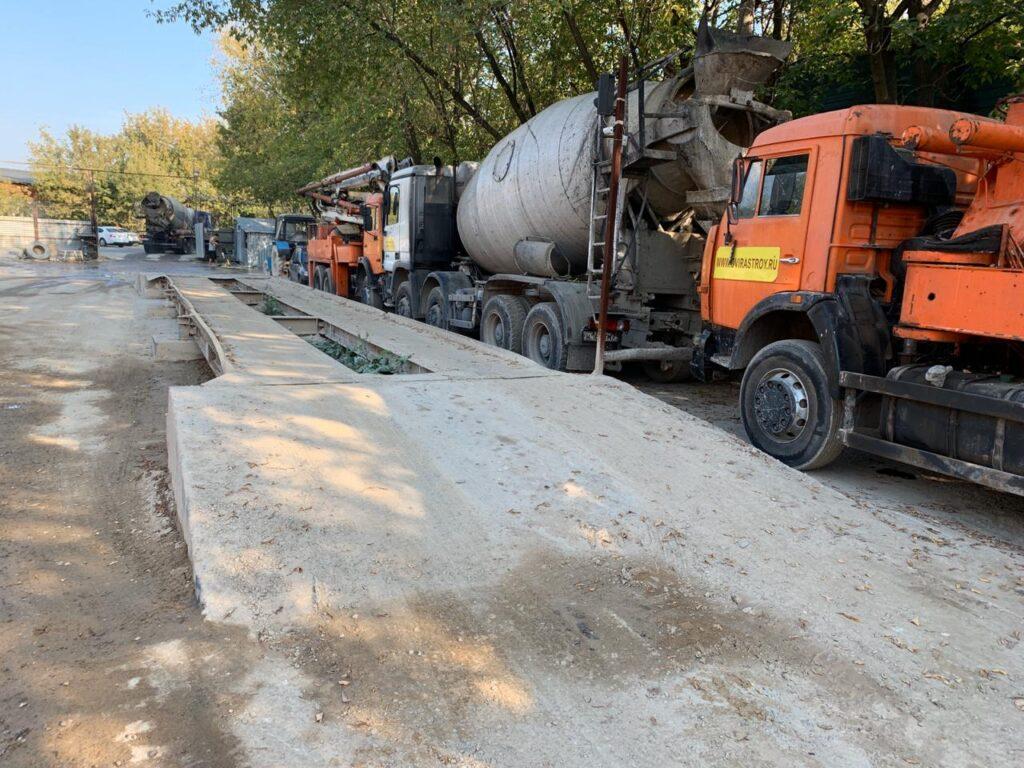 Заказ бетона в домодедово силикатные бетоны это